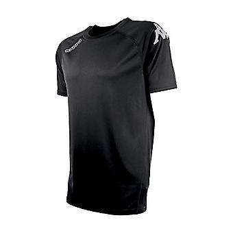 Kappa Tesis SS, Heren T-shirt, Zwart, 6Y