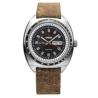 Foundry Analog Watch Quartz Man with Leather Strap P-6A004UN1