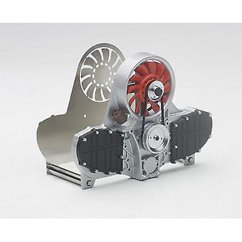 Red Air-Cooled Engine Letter Holder