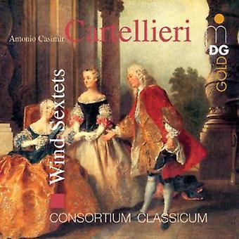 A.C. Cartellieri - Antonio Casimir Cartellieri: Wind Sextets [CD] USA import
