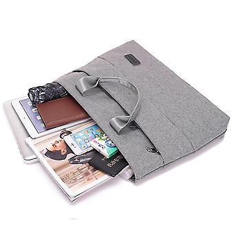 جديد الأصفاد قماش ملف حقيبة زيبر المحمولة حقيبة متعددة الطبقات حقيبة دفتر بسيط ES2711
