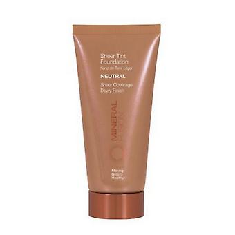 Mineral Fusion Sheer Tint Foundation Coverage Neutral, 1.8 Oz