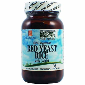 L. A .Naturals Red Yeast Rice Raw Formula, 90 Veg Caps