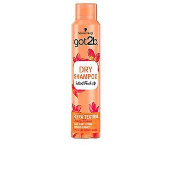 Schwarzkopf Consumo Got2b Trockenshampoo Extra Clean & Soft Texture 200 ml Für Frauen