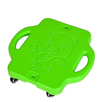 Scooter Board With Safety Handles For Kids Ages 6-12