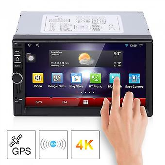 7 Inch Hd Capacitive Screen 7 Colorful Light Car Dvd Player European Map