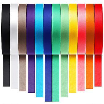 Bandă de mascare de diferite culori (24 mm / 10 m) 12-pack