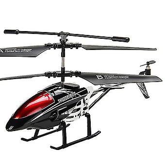 3.5 Hélicoptère de commande à distance de rc de canal (noir)