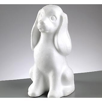 23cm polystyreen zitten hond vorm te versieren | Styrofoam vormen voor ambachten