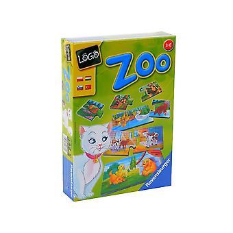 Ravensburger Logo Games - Zoo
