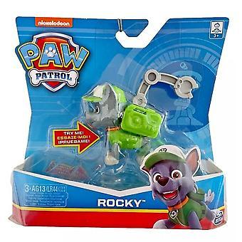 Paw Patrol Rocky Figure & Mochila Accessory Sound Pack