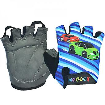 Bicycle Gloves Summer Breathable Anti-skid Roller Skating Half Finger Boys' And Girls' Riding Gloves