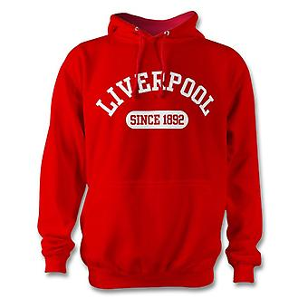 Liverpool 1892 Established Football Kids Hoodie