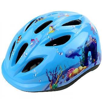 Bicycle Scooter Skating Speed Skating Helmet Helmet(Blue)