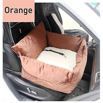 Luxury pet dog car booster seat