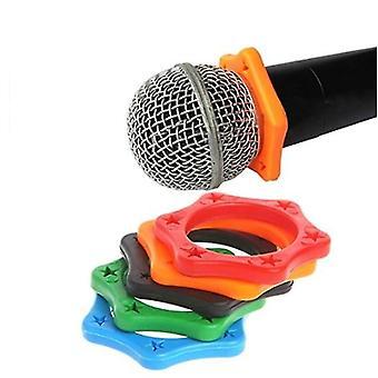 Gummi Anti-Rutsch-Roller-Ring-Schutz -für Handheld Wireless Mikrofon