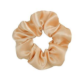 Vrouwen zijde scrunchie elastische multicolor haarband paardenstaart houder