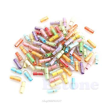 Letter Love Pill Full Clear Color Mini Wish Bottle