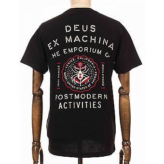 Deus Ex Machina Venice Address Tee - Black
