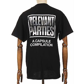 Carhartt WIP X Relevante Partijen Vol 1 Tee - Zwart