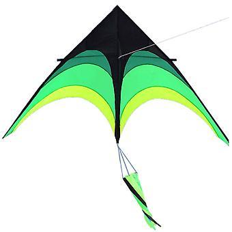 Großer Delta Long Tail Kite 1,6 m Super Riesiger Kite Einfach zu fliegen für Kinder und Erwachsene