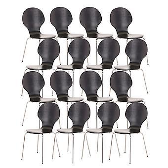 Esszimmerstuhl - Esszimmerstühle - Küchenstuhl - Esszimmerstuhl - Modern - Schwarz - Metall - 43 cm x 45 cm x 86 cm