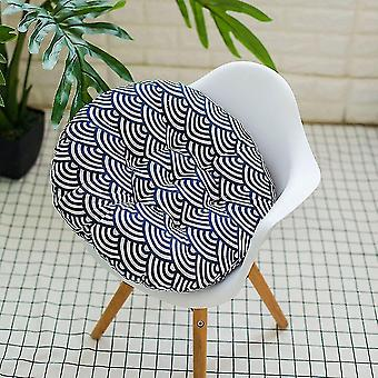 Chaises outdoor garden patio chair seat soft cotton filled cushion pad cushion waves