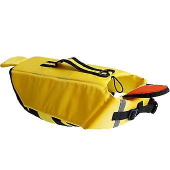 Patas a bordo del chaleco salvavidas para perros para nadar y pasear en bote
