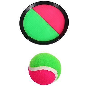 1set Sucker Sticky Ball Spielzeug Outdoor Sport Catch Ball Spiel Set Werfen und Fangen Eltern-Kind Interaktive Outdoor-Spielzeuge für Kinder