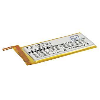 Battery for Apple iPod Nano 5th 616-0406 616-0467 P11G73-01-S01 MP3 nano5 240mAh