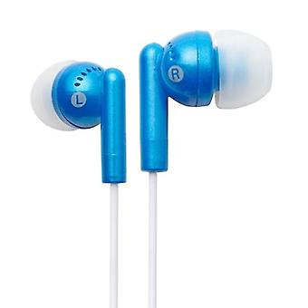 Groov-e GVEB3BE Kandy Earphones - Blue
