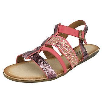 Damas sandalias de Gladiador tiras de sabana