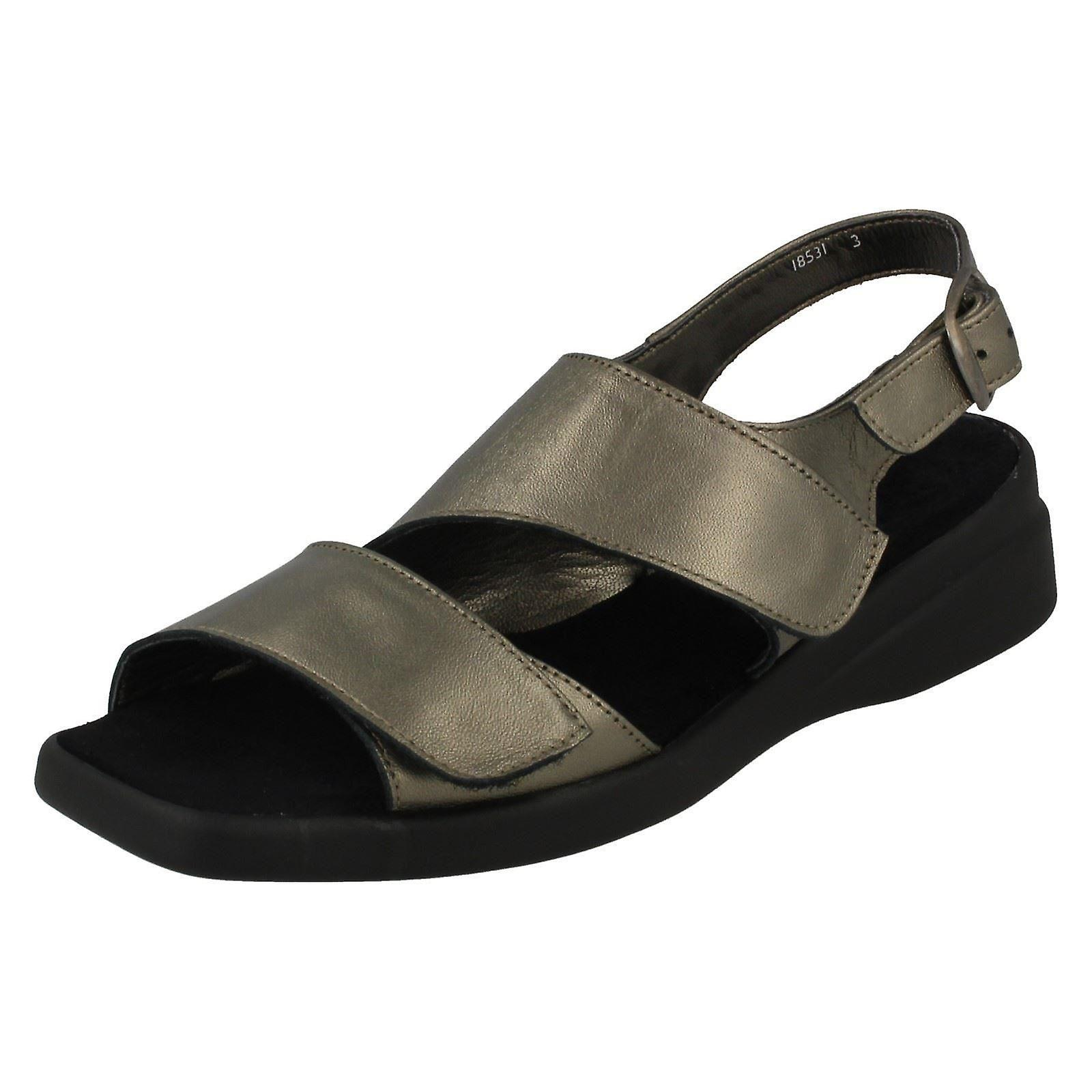Ladies Nil Simile Narrow Fitting Leather Sandal Devon qUmrV