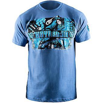 Hayabusa Samurai Warrior T-Shirt - Blue