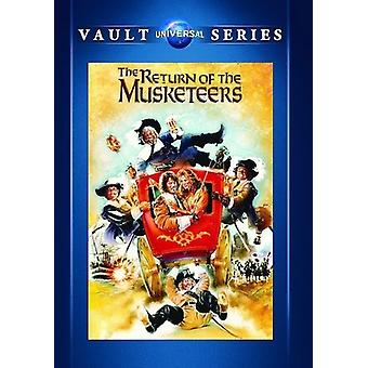Return of the Musketeers [DVD] USA import