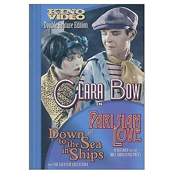 Parisian Love/Down to the Sea in Ships [DVD] USA import