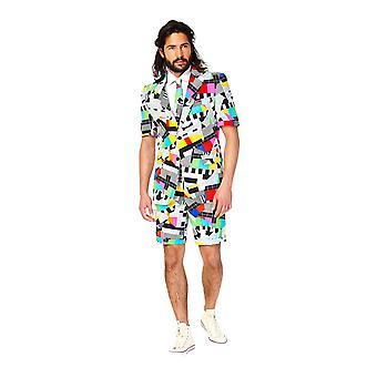 Testival test pattern summer suit Summersuit slimline men's 3-piece premium EU SIZES
