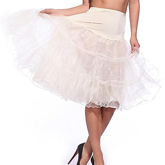 "Boolavard ® TM 26 ""50s Retro-Vintage-Swing-Unterrock Petticoat Fancy Net Rock Rockabilly Tutu"