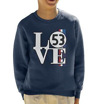Sweat-shirt de l'enfant Love Bug Herbie