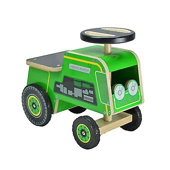 Kiddimoto Wooden Ride on Tractor 12m+