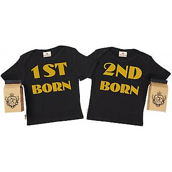 Spoilt Rotten 1st Born & 2nd Born Toddler T-Shirt