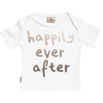 Spoilt Rotten Happily Ever After Short Sleeve Baby T-Shirt