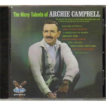 Archie Campbell - Many Talents of [CD] USA import