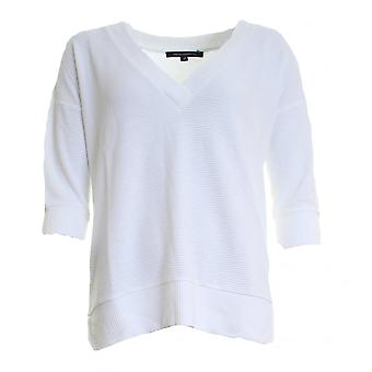 French Connection Spring Sudan Long Sleeve V-Neck Womens Top