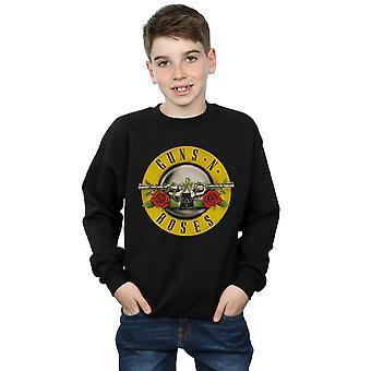 Guns N Roses garçons Bullet Logo Sweatshirt