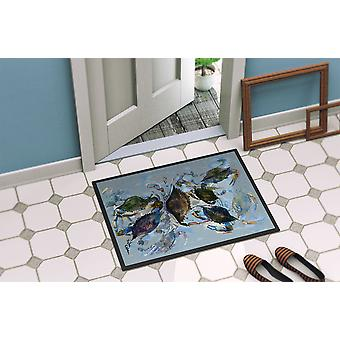 Carolines Treasures  8016-MAT Crab  Indoor or Outdoor Mat 18x27 8016 Doormat