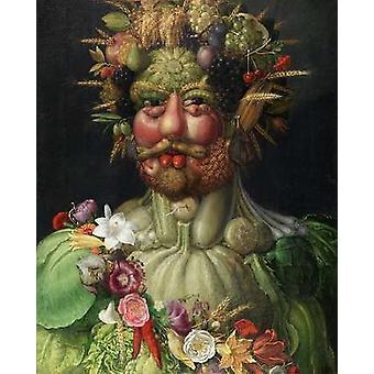 Vertumnus 1591 Poster Print von Giuseppe Arcimboldo