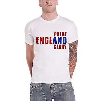 Official Mens England Football T Shirt Pride and Glory Logo size XL