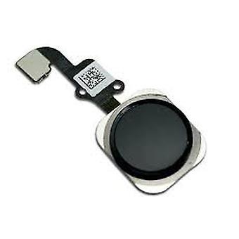 6 & 6 携帯電話のホーム ボタン フレックス ケーブル ブラック プラス