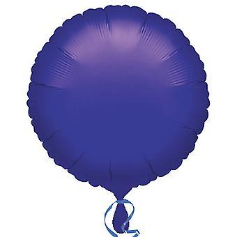 Anagram 18 Inch Circle Satin Luxe Foil Balloon